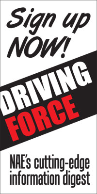 Driving Force - sign up now for The National Association of Entrepreneurship's cutting edge digest